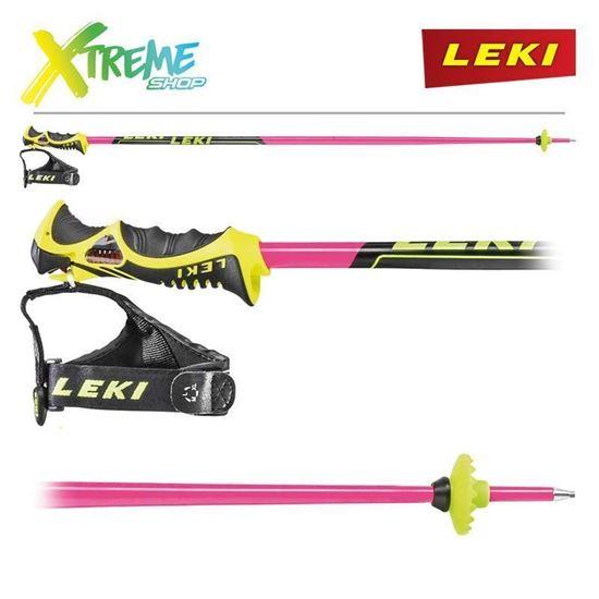 Kije narciarskie Leki WORLDCUP RACING SL TBS PINK 6406705
