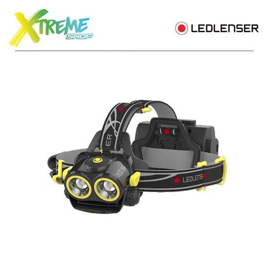 Latarka czołówka Ledlenser XEO19R Softcase Yellow