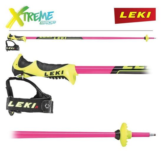 Kije narciarskie Leki WCR LITE SL PINK 6406505