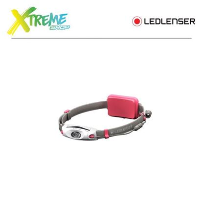 Latarka czołówka Ledlenser NEO6R Red