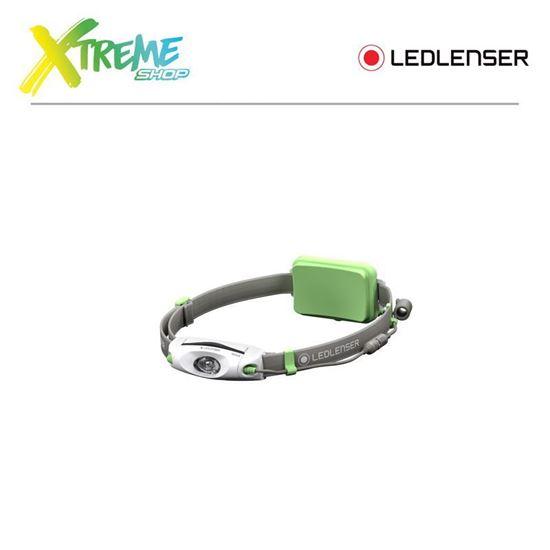 Latarka czołówka Ledlenser NEO6R Green