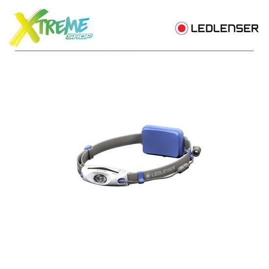 Latarka czołówka Ledlenser NEO4 Blue