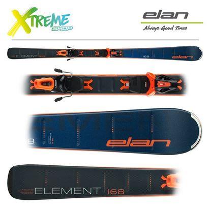 Narty Elan ELEMENT BLUE 2021 + Wiązania EL 10.0