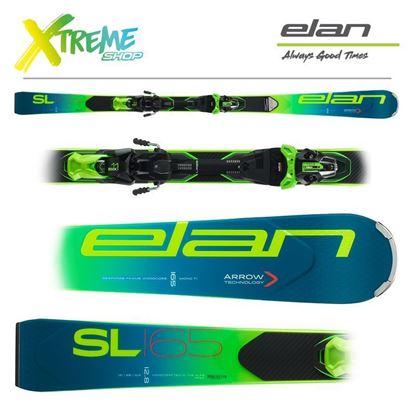 Narty Elan SL 2020 + Wiązania EMX 11