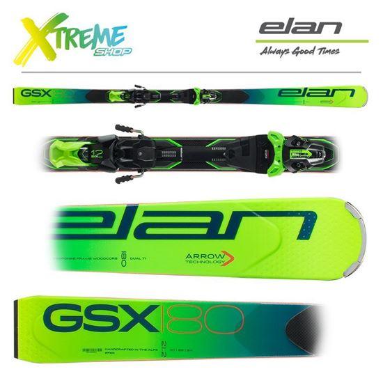 Narty Elan GSX 2020 + Wiązania EMX 12