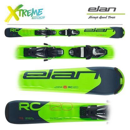 Narty Elan RC RACE 2020 + Wiązania EL 7.5