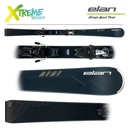 Narty Elan INSOMNIA BLACK EDITION 2020 + Wiązania ELX 11 1