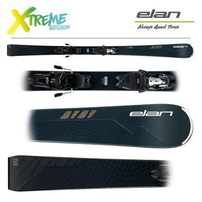 Narty Elan INSOMNIA BLACK EDITION 2021 + Wiązania ELX 11 1