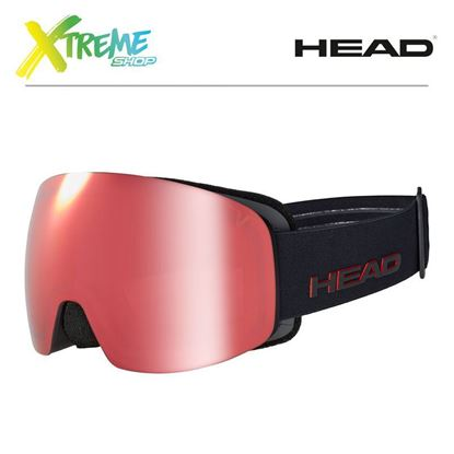 Gogle Head GALACTIC TVT Red