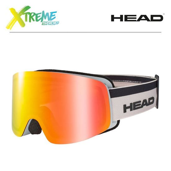 Gogle Head INFINITY FMR Yellow/Red