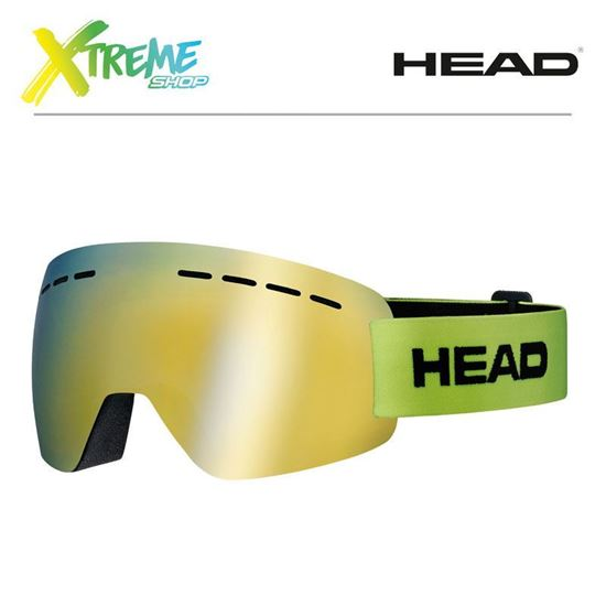 Gogle Head SOLAR FMR Lime