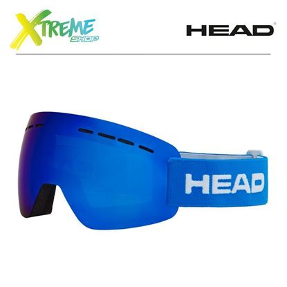 Gogle Head SOLAR FMR Blue