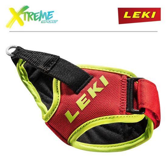 Paski do kijów narciarskich Leki Trigger S FRAME STRAP Red/Neon
