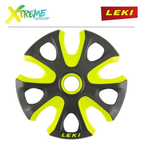 Talerzyki Leki BIG MOUNTAIN 95mm Black/Neon