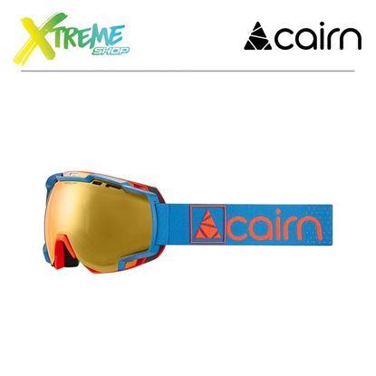 Gogle Cairn MERCURY EVO NXT Neon Orange Blueorange