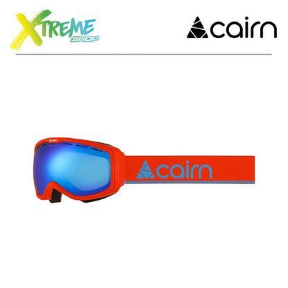 Gogle Cairn FUNK OTG Mat Neon Orange Azure