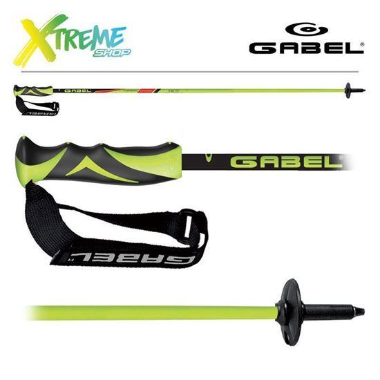 Kije narciarskie Gabel CARBON CROSS Lime