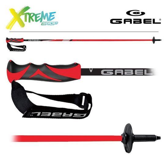 Kije narciarskie Gabel CARBON CROSS Red