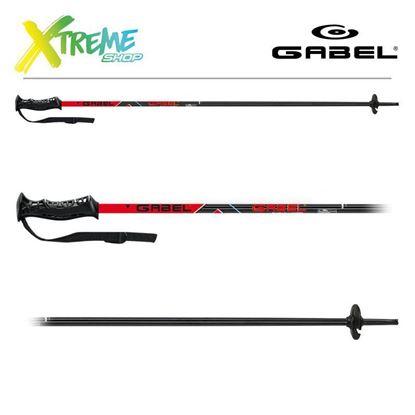 Kije narciarskie Gabel CVJ Black/Red