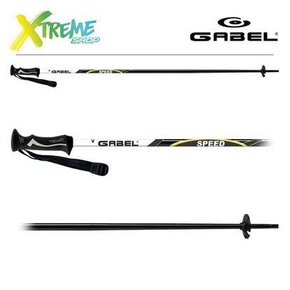 Kije narciarskie Gabel SPEED Black/Lime
