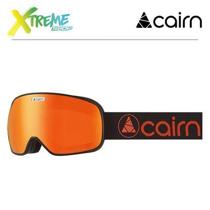 Gogle Cairn MAGNETIK Mat Black Orange