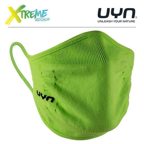 Maska ochronna sportowa UYN COMMUNITY MASK UNISEX Lime 1