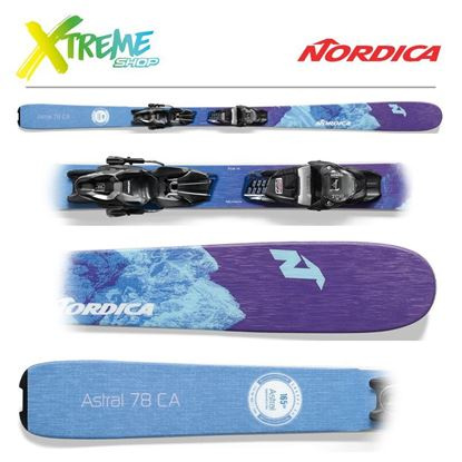 Narty Nordica ASTRAL 78 2021 + Wiązania TP2 COMPACT 10 FDT