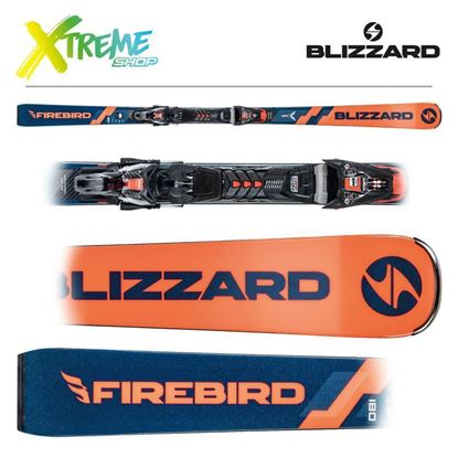 Narty Blizzard FIREBIRD WRC 2022 + Wiązania XCELL 14 DEMO