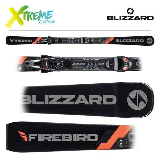 Narty Blizzard FIREBIRD COMPETITION 70 2021 + Wiązania TPX 12 DEMO