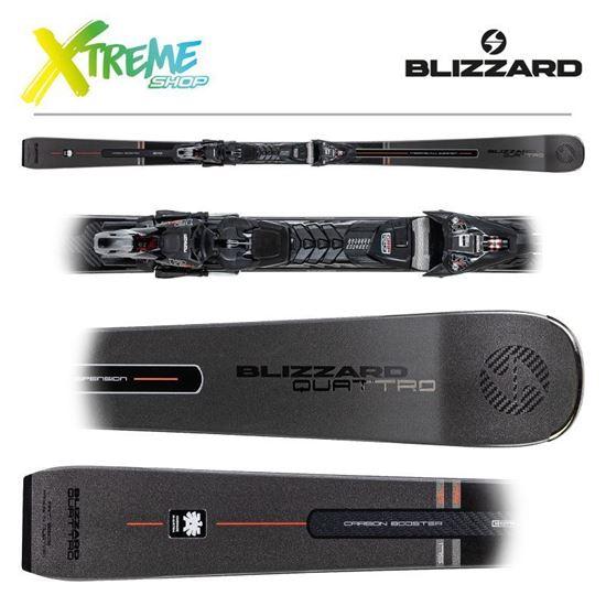 Narty Blizzard QUATTRO RS 70 2021 + Wiązania XCELL 12 DEMO