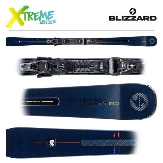 Narty Blizzard QUATTRO RS 76 2021 + Wiązania XCELL 12 DEMO