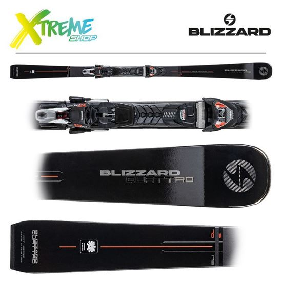 Narty Blizzard QUATTRO S 70 2021 + Wiązania TPX 12 DEMO