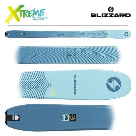 Narty Blizzard ZERO G 095 Blue 2021