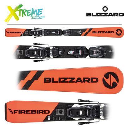 Narty Blizzard FIREBIRD COMP. JR 2021 + Wiązania FDT JR 7