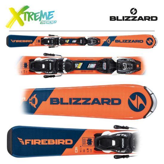 Narty Blizzard FIREBIRD JR L 2021 + Wiązania FDT JR 7
