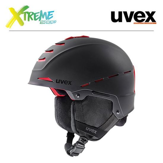 Kask Uvex LEGEND PRO All Black Mat