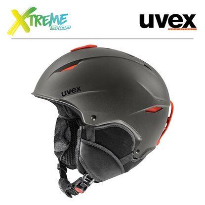 Kask Uvex PRIMO Dark Slate - Orange Mat