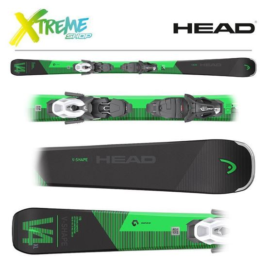 Narty Head V-SHAPE V4 XL 2022 + Wiązania Head PR 11 GW