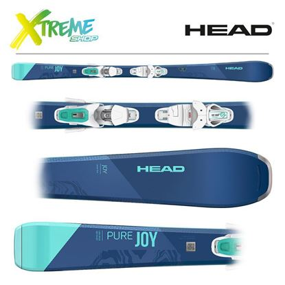 Narty Head PURE JOY 2021 + Wiązania Head JOY 9 GW