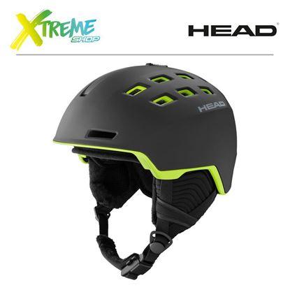 Kask Head REV Black/Lime