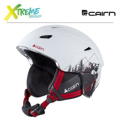 Kask Cairn PROFIL White Wild Grizzly