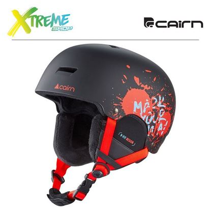 Kask Cairn DARWIN Black Fire Paint