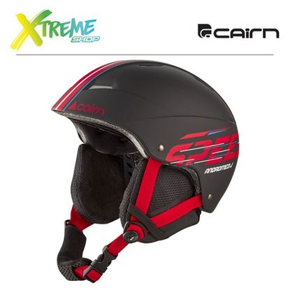Kask Cairn ANDROMED J Black Red Speed