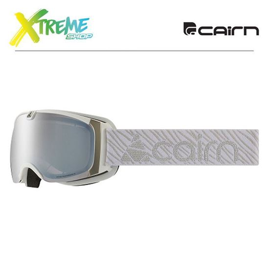 Gogle Cairn PEARL EVOLIGHT NXT Mat White Silver