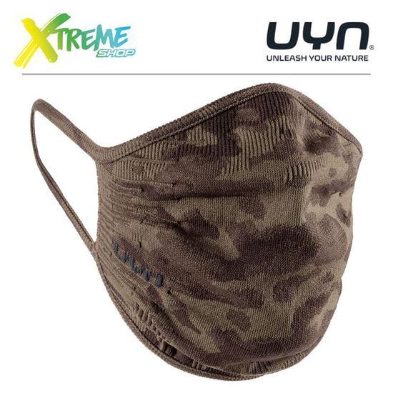 Maska ochronna sportowa UYN COMMUNITY MASK UNISEX Camouflage 1
