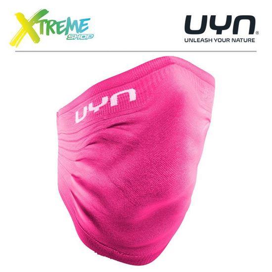 Maska ochronna sportowa UYN COMMUNITY MASK UNISEX WINTER Pink