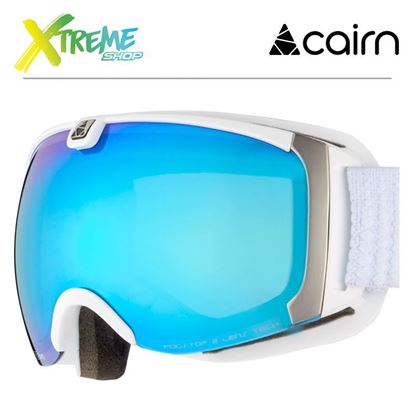 Gogle Cairn PEARL 8201 Mat White Ice Blue 1