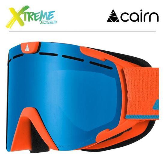 Gogle Cairn SCOOP 8110 Mat Orange 1
