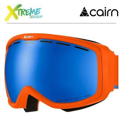 Gogle Cairn FUNK OTG 810 Mat Neon Orange Azure 1