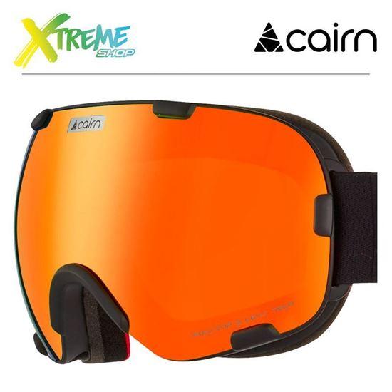 Gogle Cairn SPIRIT 8102 Mat Black Orange 1